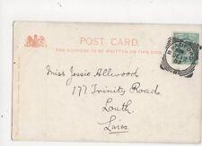 Miss Jessie Allwood Trinity Road Louth 1902 420a