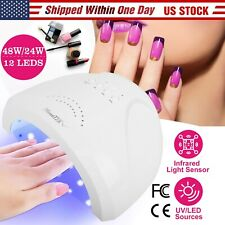 Professional 48W Led Uv Nail Dryer Gel Polish Lamp Light Curing Manicure Machine