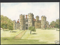 Hampshire Postcard - The Abbey, Titchfield  WC407