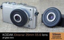 25mm Kodak Lens Body Cap FOR Micro 4/3 Olympus PEN E P 2 3 5 PL G 6 GF camera