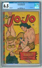 Jo-Jo Comics #16 CGC 6.5 (Fox, 6/1948) Matt Baker Jack Kamen Bondage Cover