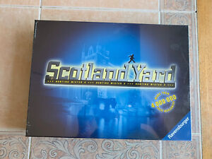 Scotland Yard Hunting Mister X Board Game Ravensburger Brand New Factory Sealed
