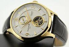 Polierte Vergoldete Mechanisch-(Automatisch) Armbanduhren mit 12-Stunden-Zifferblatt