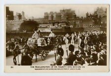 c 1910 British Royalty Royal Family King Edward Vii Funeral photo postcard