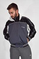 CHAMPION Felpa Hoodies Sweatshirt Con Cappuccio Grigia Poliestere TG L Uomo Man