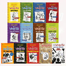 Diary of a Wimpy Kid 13 Books Collection Set Old School The Long Haul Hard Luck