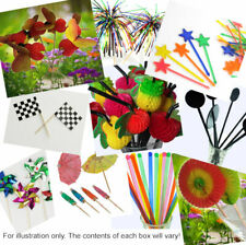 Warehouse Clearance: BIG Box of MIXED cocktail party decorations - BARGAIN!