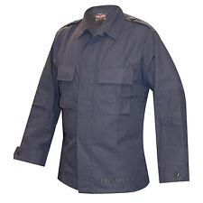 Tru-Spec Poly Cotton Rip Two-Pocket BDU Shirt Navy Police Security Sheriff LL