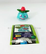 Ivysaur Bandai Pokemon Figure Finger Puppet from 2004 Japanese with Sticker!