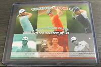 MATTHEW WOLFF COLLIN MORIKAWA VIKTOR HOVLAND YOUNG GUNS 3 ROOKIE CARD RC 🔥
