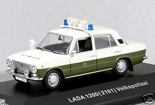 1/43 scale Cars & Co CCC056 east German VAZ 1200 2101 LADA Volkspolizei NIB