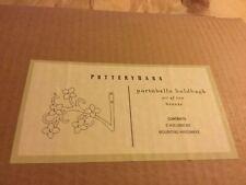 NEW IN BOX Pair Pottery Barn Curtain Drapery Holdbacks - Portobello Bronze