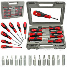 21 Piece Magnetic Tip Screwdriver Bit Set Phillips Flat Hex Torx & Compact Case