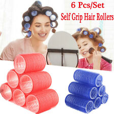 Large Self Grip Hair Rollers Pro Salon Hairdressing Curlers Hair Salon tool