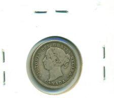 CAP Canada 10 cents 1888 Fine