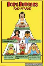 Bob's Burgers : Food Pyramid - Maxi Poster 61cm x 91.5cm new and sealed