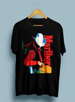 Vintage Rare Delta Men's Marlboro Cowboy T Shirt Reprint S-3XL.,#