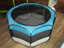 """40""""×23"""" Collapsible Puppy Playpen New With Carry Case"""