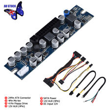 300W DC 12V 25A PSU 24Pin Mini ITX DC To ATX PC Power Supply Module With Cable