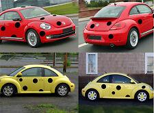LADY BIRD, LADY BUG CAR DECALS KIT, VW BEETLE, FORD KA, MINI COOPER, VAN, CAR
