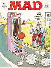 MAD #165 1974 E.C. B&W -ALFRED E. NEUMAN -SPY-VS-SPY -JAMES BOND-s..VF
