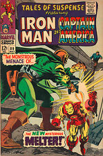 Tales Of Suspense #89 - The Melter Escapes! - 1967 (Grade 6.0)