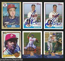 GARY MATTHEWS Signed/Autographed 1983 DONRUSS CARD Philadelphia Phillies w/COA