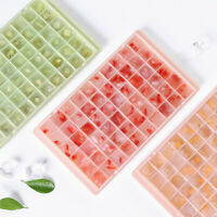 60 Small Ice Cube Tray Frozen Cubes Tray Silicone Summer Home Ice Maker Mold ZBE