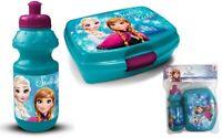 Brotdose & Trinkflasche Kindergarten Set KiTa Schule Disney Eiskönigin Anna Elsa
