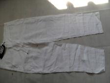 RIANI schöne Leinenhose weiß Gr. 40 NEU BI618