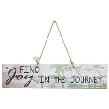 Rustic~FIND JOY IN THE JOURNEY~Vintage Shabby Chic Inspirational Home Decor sign