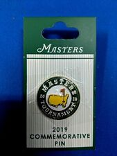 ☆☆☆2019 MASTERS COMMEMORATIVE PIN AUGUSTA NATIONAL GOLF CLUB TIGER WOODS☆☆☆