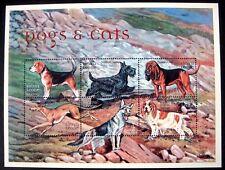DOG STAMPS SHEET 2000 MNH SIERRA LEONE BEAGLE SPANIEL SHEPHERD TERRIER GREYHOUND