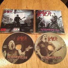 Slayer - Sacramento 2018 2CD Japan press metallica exodus megadeth anthrax sadus