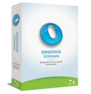 Nuance Omnipage Ultimate 19 ✅lifetime activation✅Retail✅ money back guarantee