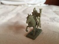 MINIATURA Rey Lich a Caballo de RESINA Ideal Juegos de Mesa NEW AND ASSEMBLED