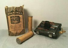Vintage 1920's Rolmonica with Three Rolls and Original Box