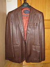 Chaqueta de Cuero Vintage. Givenchy Gentlemen. Vintage Leather Jacket 70's-80's