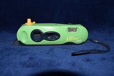 Vintage Polaroid Green I-Zone Pocket Point & Shoot Instant Film Camera Retro