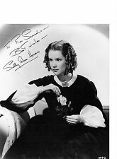 Sally Ann Howes Genuine signed authentic autograph