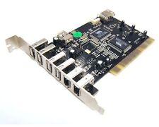 Bytecc BT-PCI-U2FW 5 USB 2.0 Ports + 3 Firewire 400/1394A Ports PCI Card