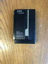 Aiwa HS-P202MII Cassette Walkman Dolby B NR DSL New Old Stk  With Battery & Case