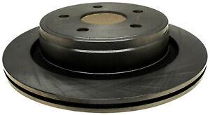 Disc Brake Rotor-Non-Coated Rear ACDelco 18A1428A