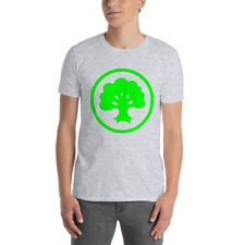 MTG Forest Green Mana Symbol Tee (3 Colors)