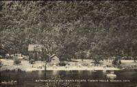 Sherman CT Beach & Tennis Courts Timber Trails Postcard