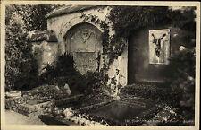 Egern Bayern  Ansichtskarte 1956 Friedhof Partie an den Ganghofer Thoma Gräbern