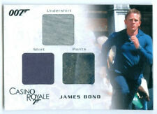 "DANIEL CRAIG ""JAMES BOND DIRT VARIANT TRIPLE COSTUME #TC03"" JAMES BOND IN MOTION"