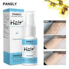 PANSLY Permanent Hair Removal Spray Stop Hair Growth Inhibitor Non-Irritating
