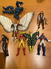 Apocalypse (- Left Arm)+ 7 Marvel Legends Action Figures All Loose And Pre-owned