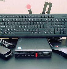 Lenovo ThinkCentre M720q. Mini PC. i5/8Gen. 8500T. 2,1GHz. 8GB RAM. 256GB SSD.